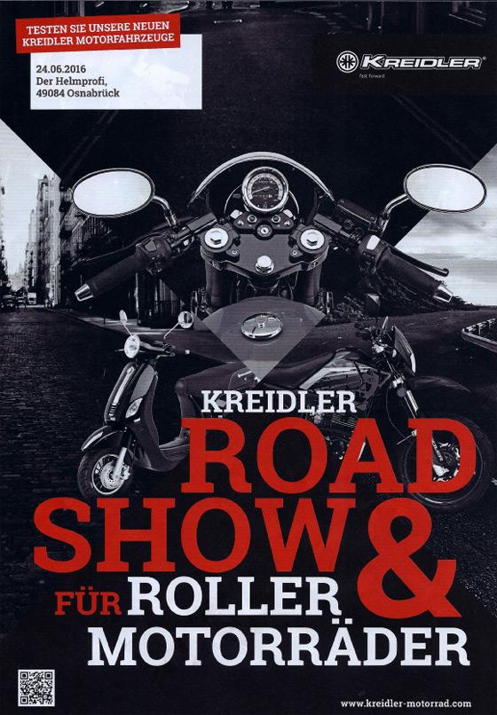 Kreidler Road Show für Roller und Motorräder